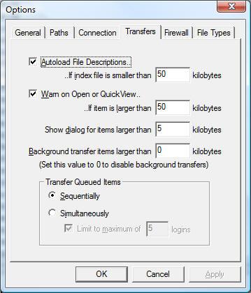 83b3aa4755db FTP Explorer Help  Transfer Options